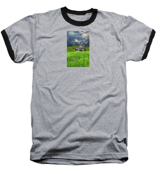 Baseball T-Shirt featuring the photograph 4379 by Peter Holme III