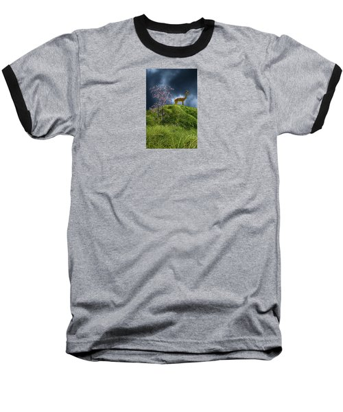 Baseball T-Shirt featuring the photograph 4388 by Peter Holme III