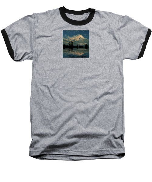 Baseball T-Shirt featuring the photograph 4395 by Peter Holme III