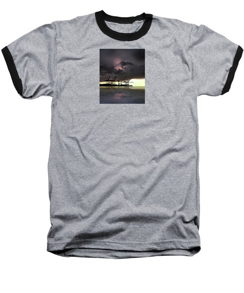 Baseball T-Shirt featuring the photograph 4396 by Peter Holme III
