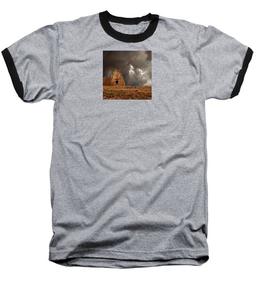 Baseball T-Shirt featuring the photograph 4398 by Peter Holme III