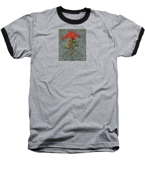 Baseball T-Shirt featuring the photograph 4400 by Peter Holme III