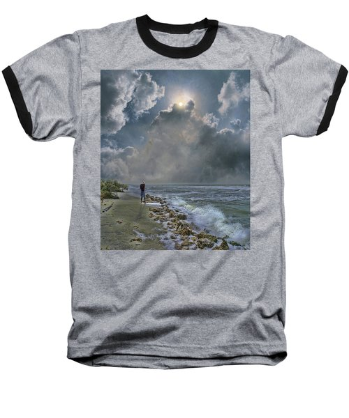 Baseball T-Shirt featuring the photograph 4405 by Peter Holme III
