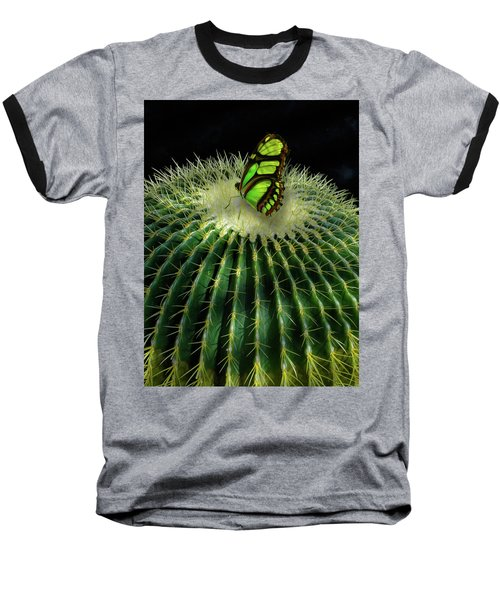 Baseball T-Shirt featuring the photograph 4409 by Peter Holme III