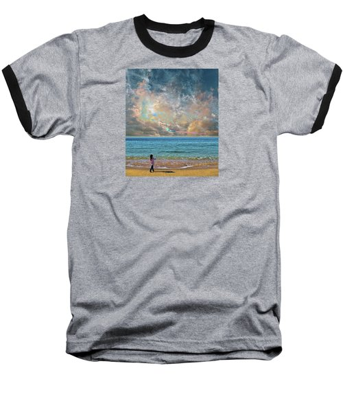 Baseball T-Shirt featuring the photograph 4410 by Peter Holme III