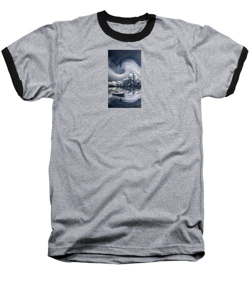 Baseball T-Shirt featuring the photograph 4412 by Peter Holme III