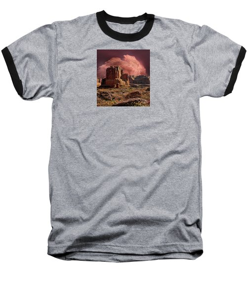 Baseball T-Shirt featuring the photograph 4417 by Peter Holme III