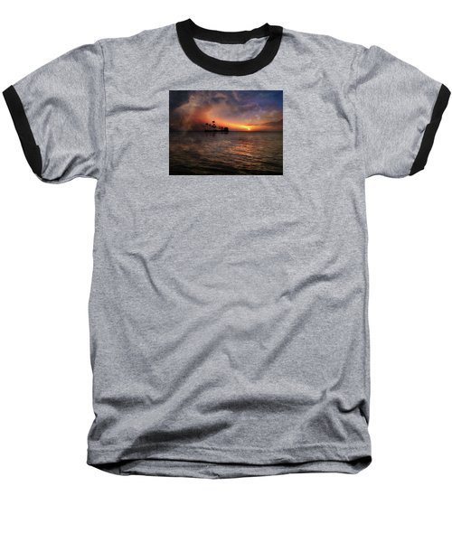 Baseball T-Shirt featuring the photograph 4419 by Peter Holme III