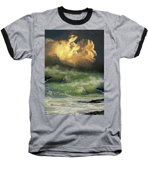 Baseball T-Shirt featuring the photograph 4449 by Peter Holme III