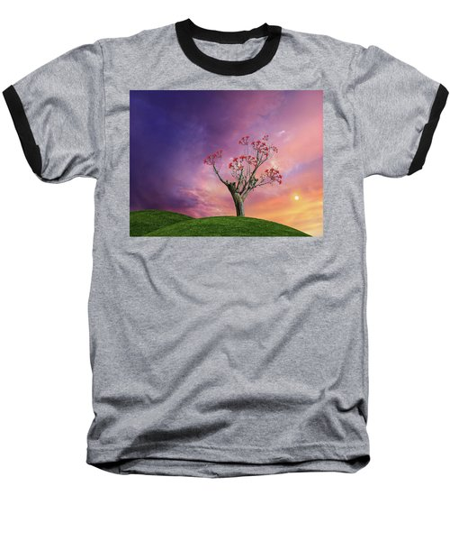 Baseball T-Shirt featuring the photograph 4451 by Peter Holme III