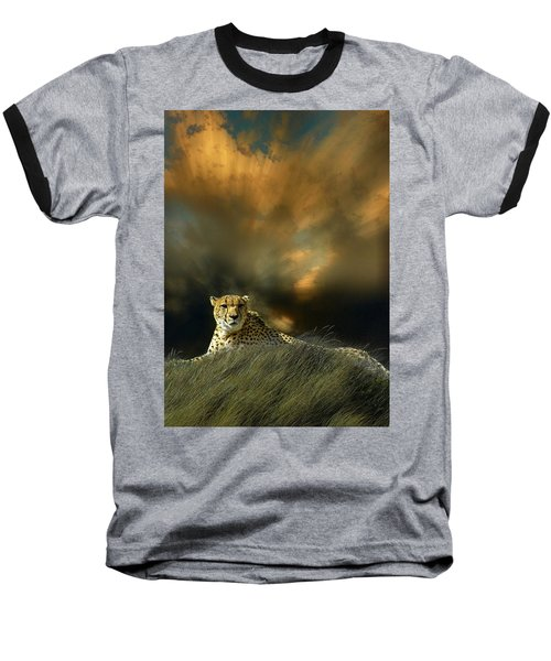Baseball T-Shirt featuring the photograph 4452 by Peter Holme III