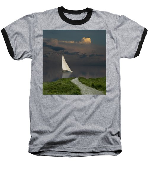 Baseball T-Shirt featuring the photograph 4456 by Peter Holme III