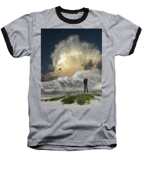 Baseball T-Shirt featuring the photograph 4457 by Peter Holme III