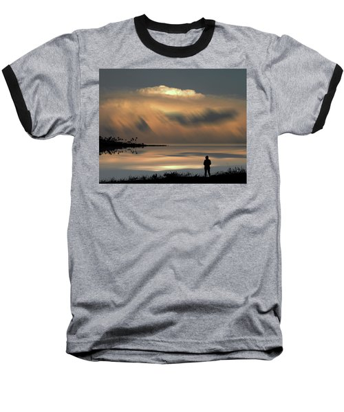 Baseball T-Shirt featuring the photograph 4459 by Peter Holme III