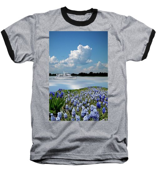 Baseball T-Shirt featuring the photograph 4464 by Peter Holme III