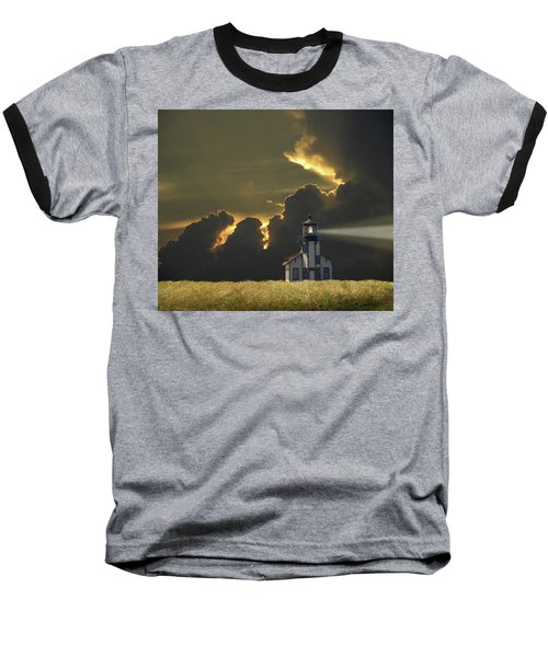 Baseball T-Shirt featuring the photograph 4465 by Peter Holme III