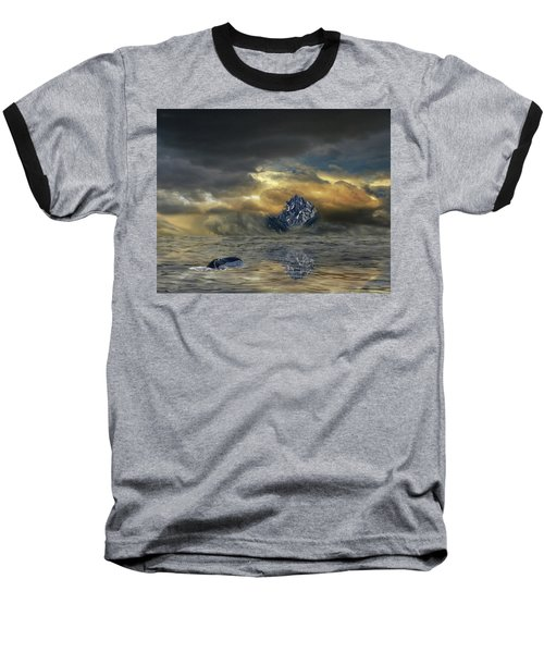 Baseball T-Shirt featuring the photograph 4471 by Peter Holme III