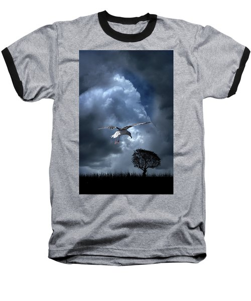 Baseball T-Shirt featuring the photograph 4472 by Peter Holme III