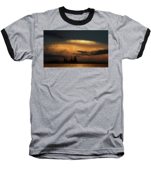 Baseball T-Shirt featuring the photograph 4476 by Peter Holme III