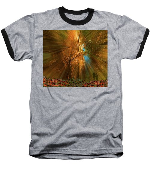 Baseball T-Shirt featuring the photograph 4478 by Peter Holme III