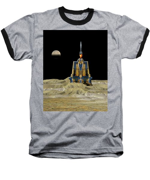 Baseball T-Shirt featuring the photograph 4481 by Peter Holme III