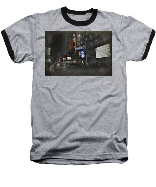 44th Street Nyc Baseball T-Shirt by Dyle Warren