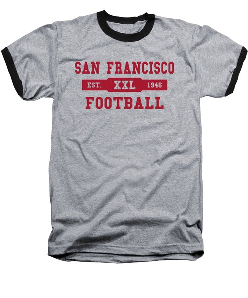 49ers Retro Shirt Baseball T-Shirt