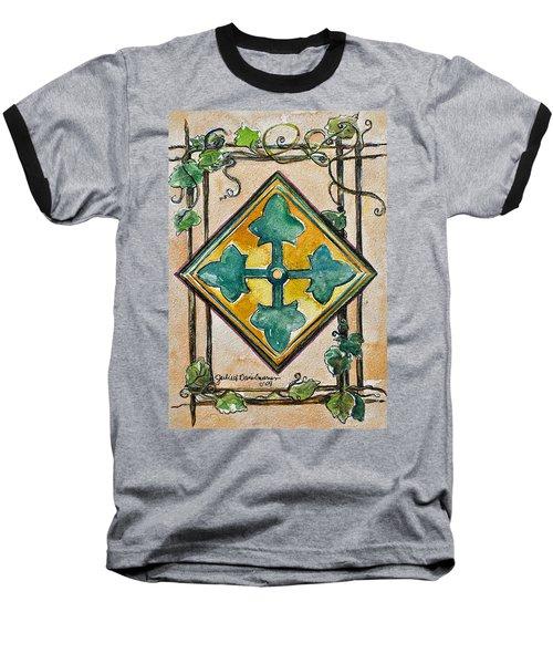 4th Infantry Division Homage Baseball T-Shirt
