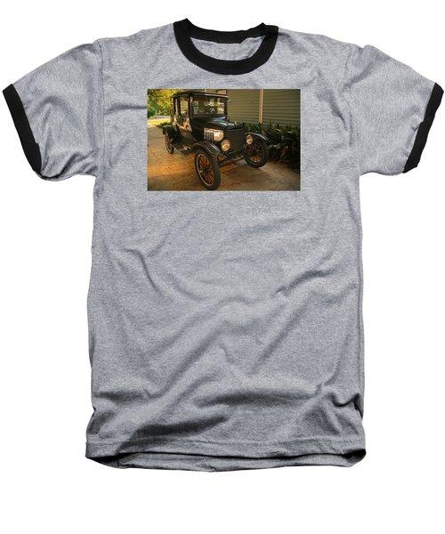 Antique Car Baseball T-Shirt