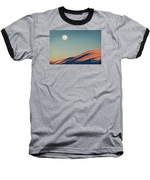 Beautiful Winter Landscape Baseball T-Shirt