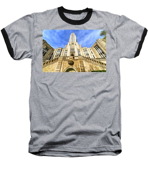 Cathedral Of Learning Baseball T-Shirt