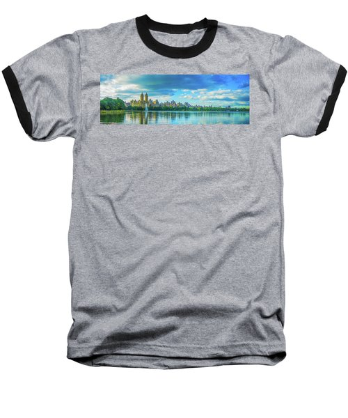 Baseball T-Shirt featuring the photograph Central Park by Theodore Jones