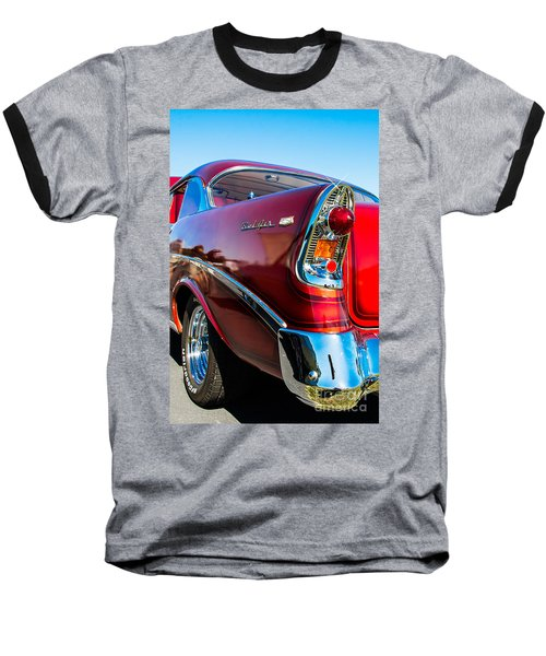 56 Chevy Bel Air Baseball T-Shirt