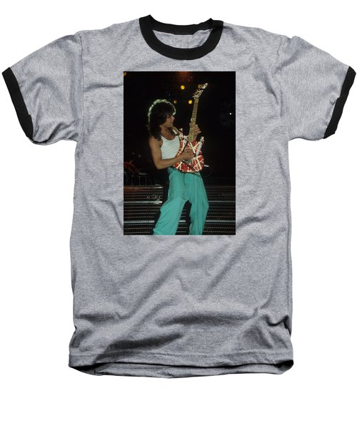Eddie Van Halen Baseball T-Shirt