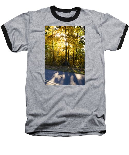 Baseball T-Shirt featuring the photograph Fall Color Virginia West Virginia by Kevin Blackburn