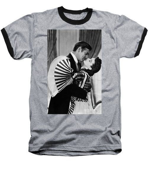 Gone With The Wind, 1939 Baseball T-Shirt by Granger