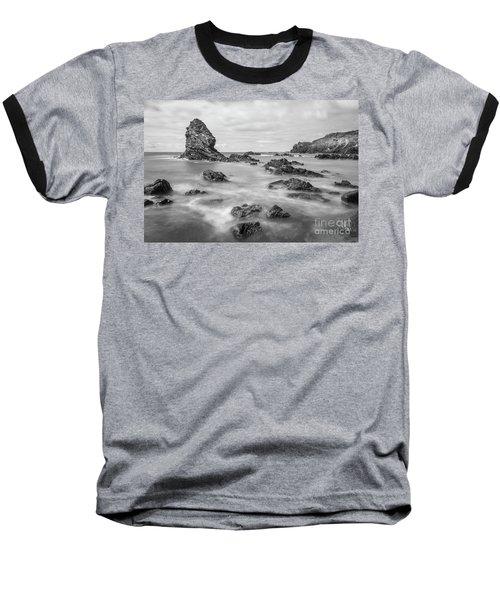 Gwenfaens Pillar Baseball T-Shirt by Ian Mitchell