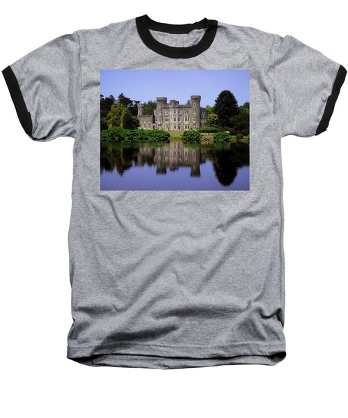 Johnstown Castle, Co Wexford, Ireland Baseball T-Shirt by The Irish Image Collection