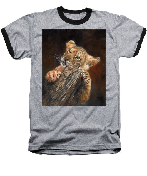 Lion Cub Baseball T-Shirt