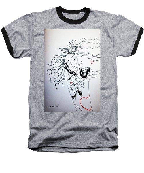 Love Is A Heart Baseball T-Shirt
