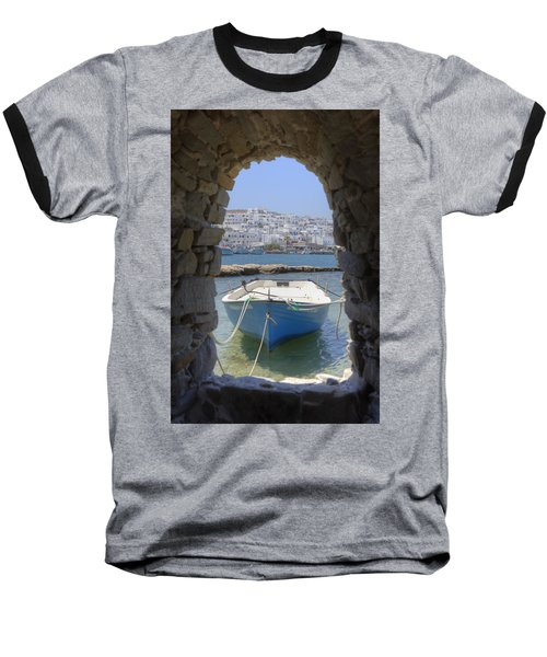 Paros - Cyclades - Greece Baseball T-Shirt