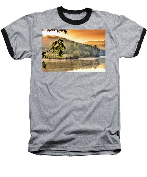 Stonewall Resort Sunrise Baseball T-Shirt by Thomas R Fletcher