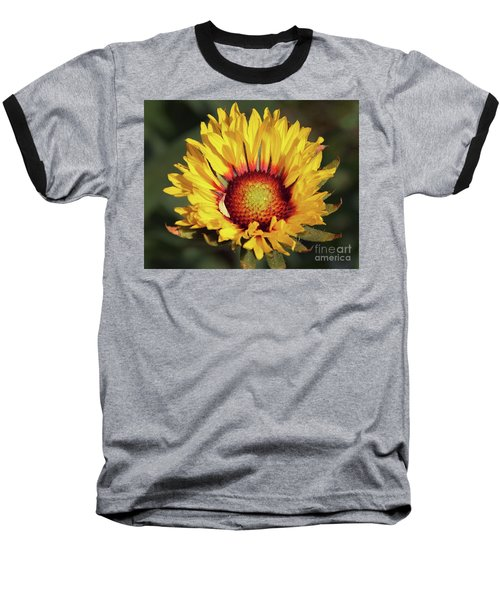 Baseball T-Shirt featuring the photograph Summer Flower by Elvira Ladocki