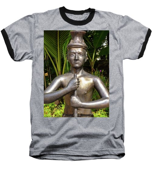 Thai Yoga Statue At Famous Wat Pho Temple Baseball T-Shirt