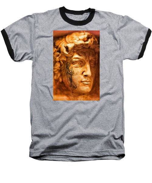 Venice Untitled Baseball T-Shirt by Brian Davis