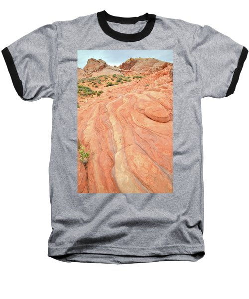 Baseball T-Shirt featuring the photograph Wave Of Color In Valley Of Fire by Ray Mathis