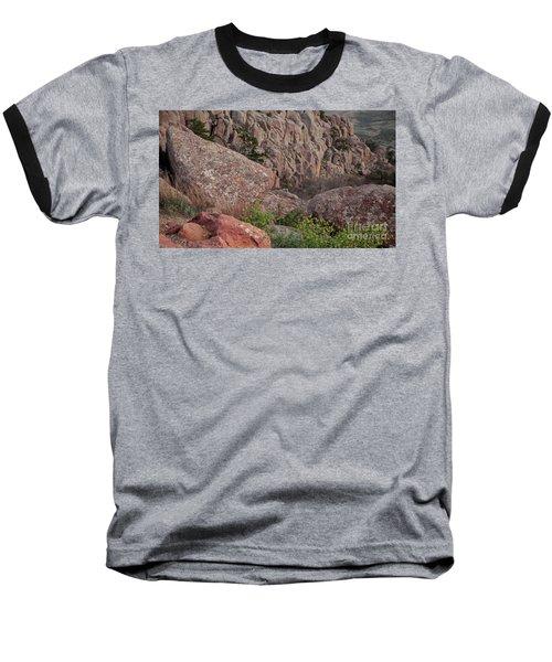 Baseball T-Shirt featuring the photograph Wichita Mountains by Iris Greenwell