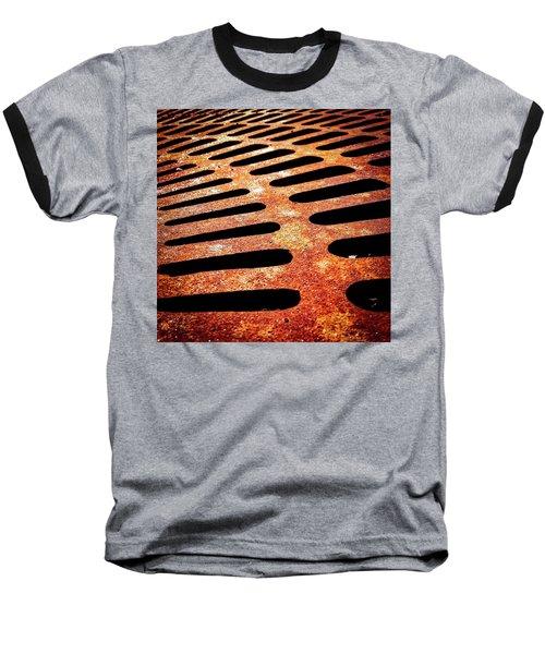 Iron Detail Baseball T-Shirt
