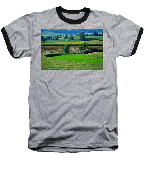 50 Shades Of Green Baseball T-Shirt
