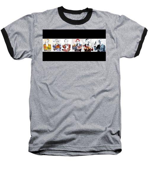 50 Years Of Bond Baseball T-Shirt